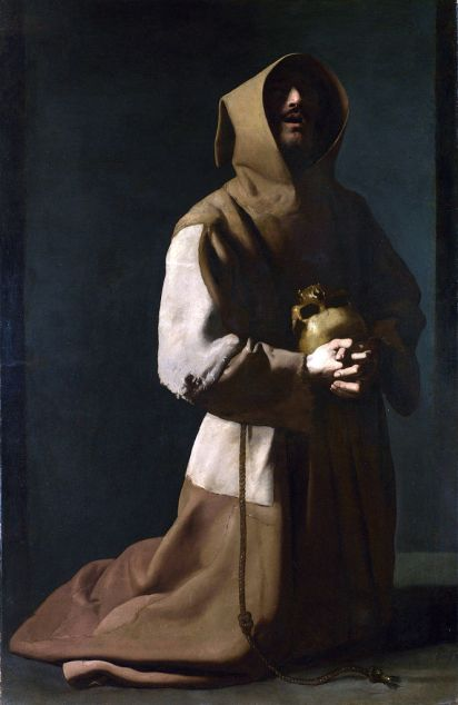 "Francisco de Zurbarán's ""Saint Francis in Meditation"""