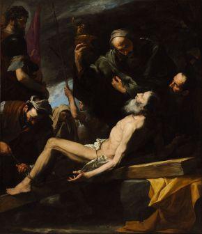 """José de Ribera's """"Martyrdom of Saint Andrew"""""""