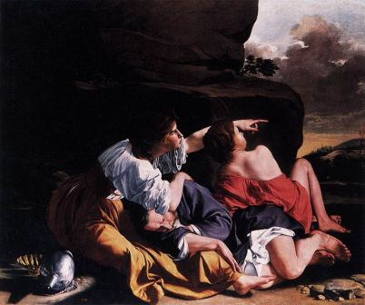 "Orazio Gentileschi's ""Lot and His Daughters"""