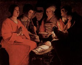 "Georges de La Tour's ""The Adoration of the Shepherds """
