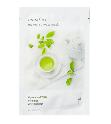 Innisfree My Real Squeeze Green Tea