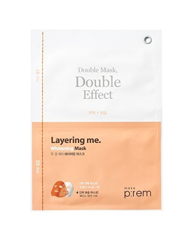 Make Prem brightening double sheet mask
