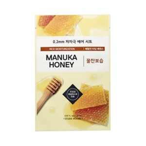etude house therapy air manuka honey sheet mask