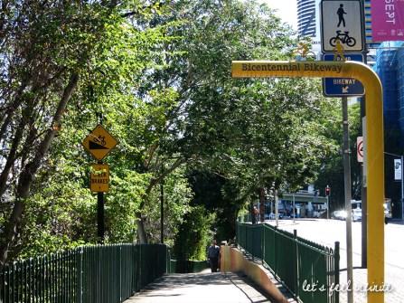 Brisbane - Bicentennial bikeway