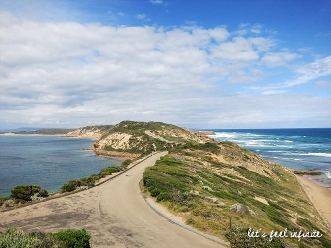 Point Nepean - La baie et le large