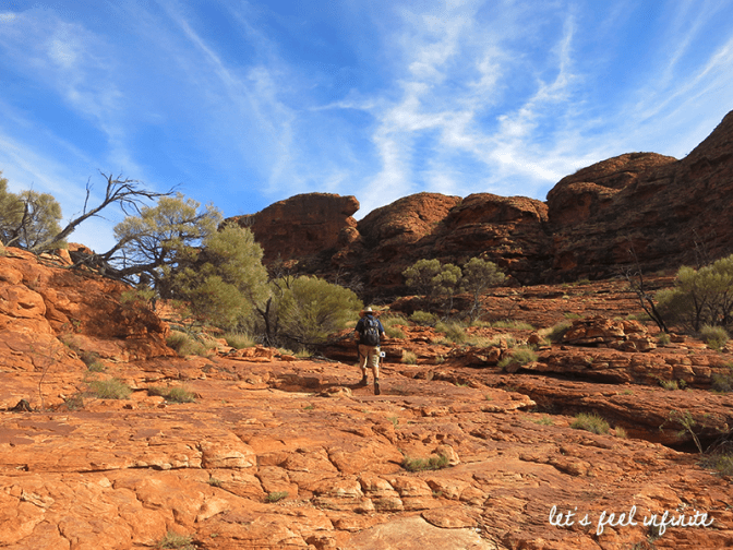 Red Center - King's Canyon