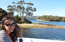 Balade en bateau à Port Arthur