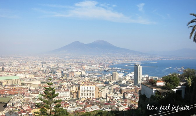 Naples vue depuis le Vomero