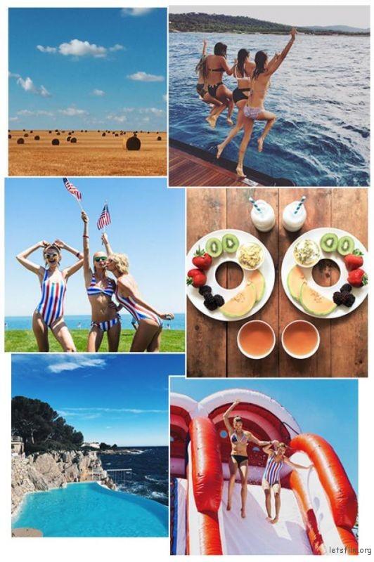 IG 打卡攻略!如何拍出夏天感滿點的照片?學學超模7招拍照技巧! | 膠片的味道