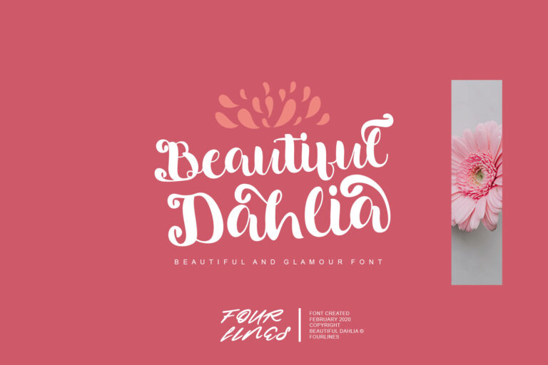 Preview image of Beautiful Dahlia