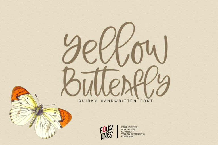 Preview image of Yellow Butterfly