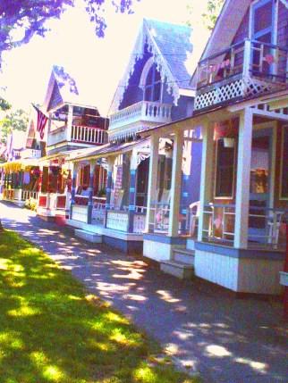 Gingerbread cottages