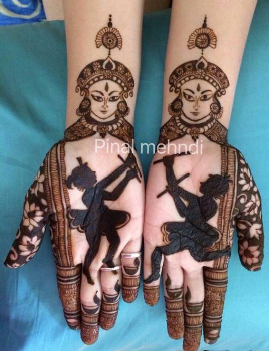 Trendy Royal Finger Mehndi Design 2018