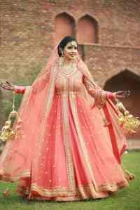 Punjabi bridal Salwar Kameej suits for Wedding Season