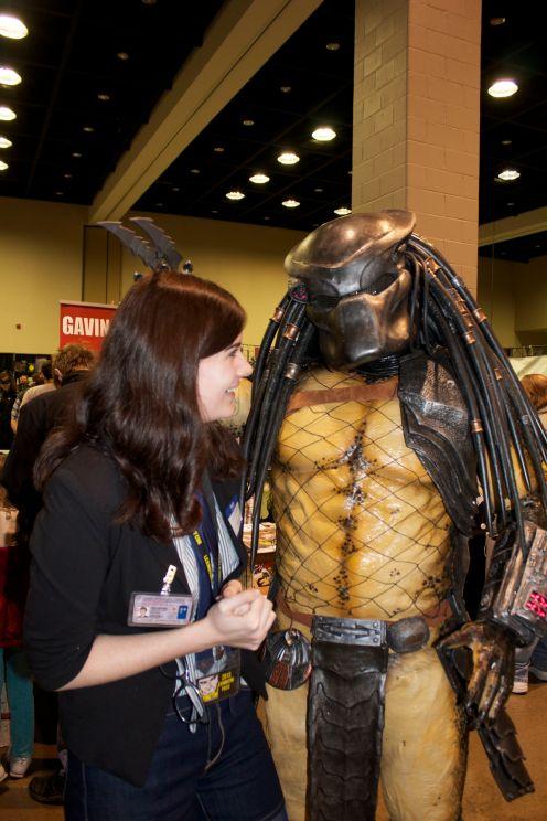 Cierra and the Predator