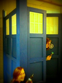 work and play on tardis