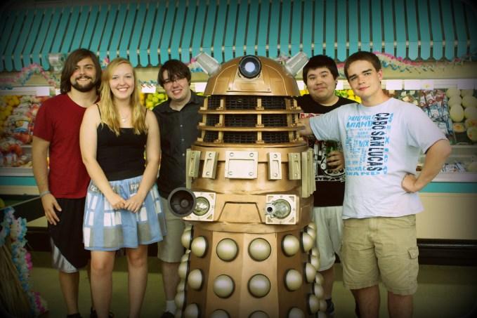 Georgetown Crew with Dalek Gana