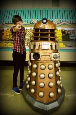 Tyler and Dalek Gana
