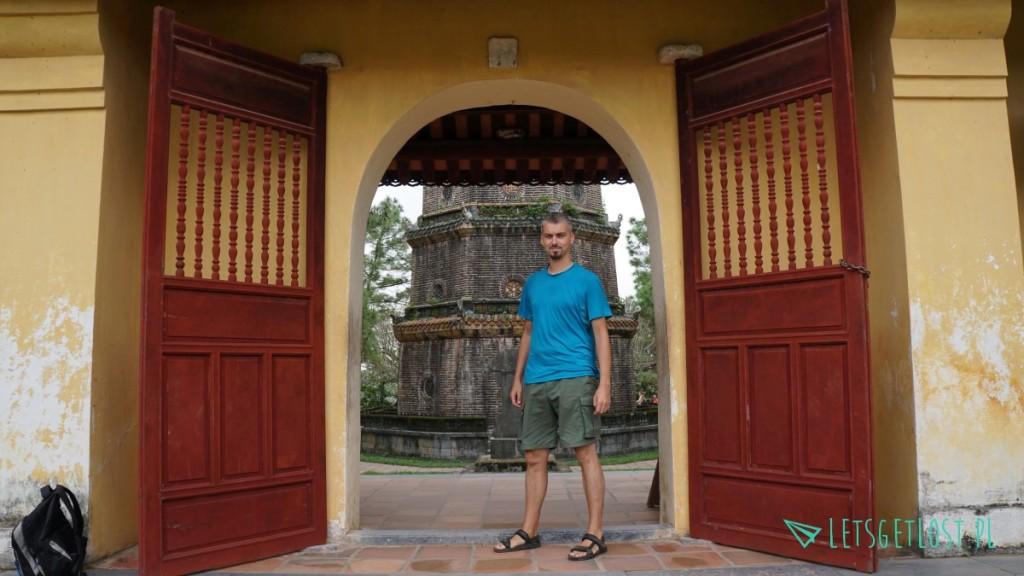 Grobowce w Hue