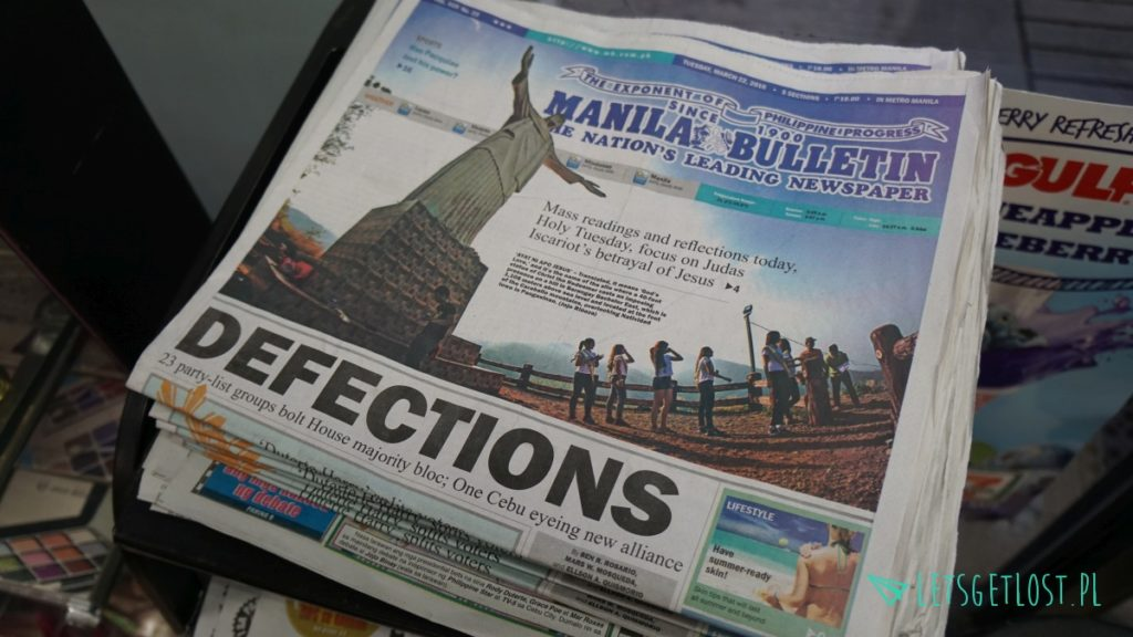Filipińskie gazety w języku angielskim