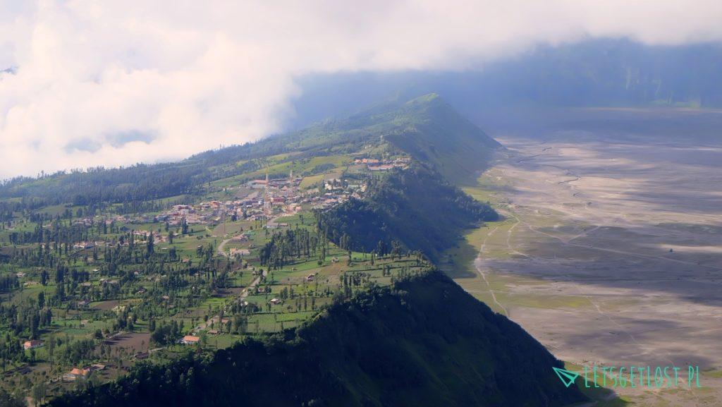 Kaldera wulkanu Bromo