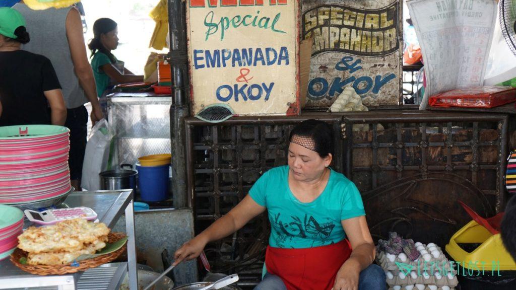 Stoisko smażalnia empanada i okoy