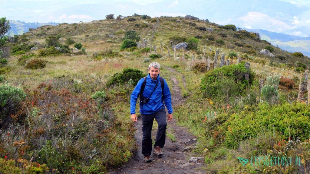 Trekking w Paramo de Oceta w Kolumbii 2