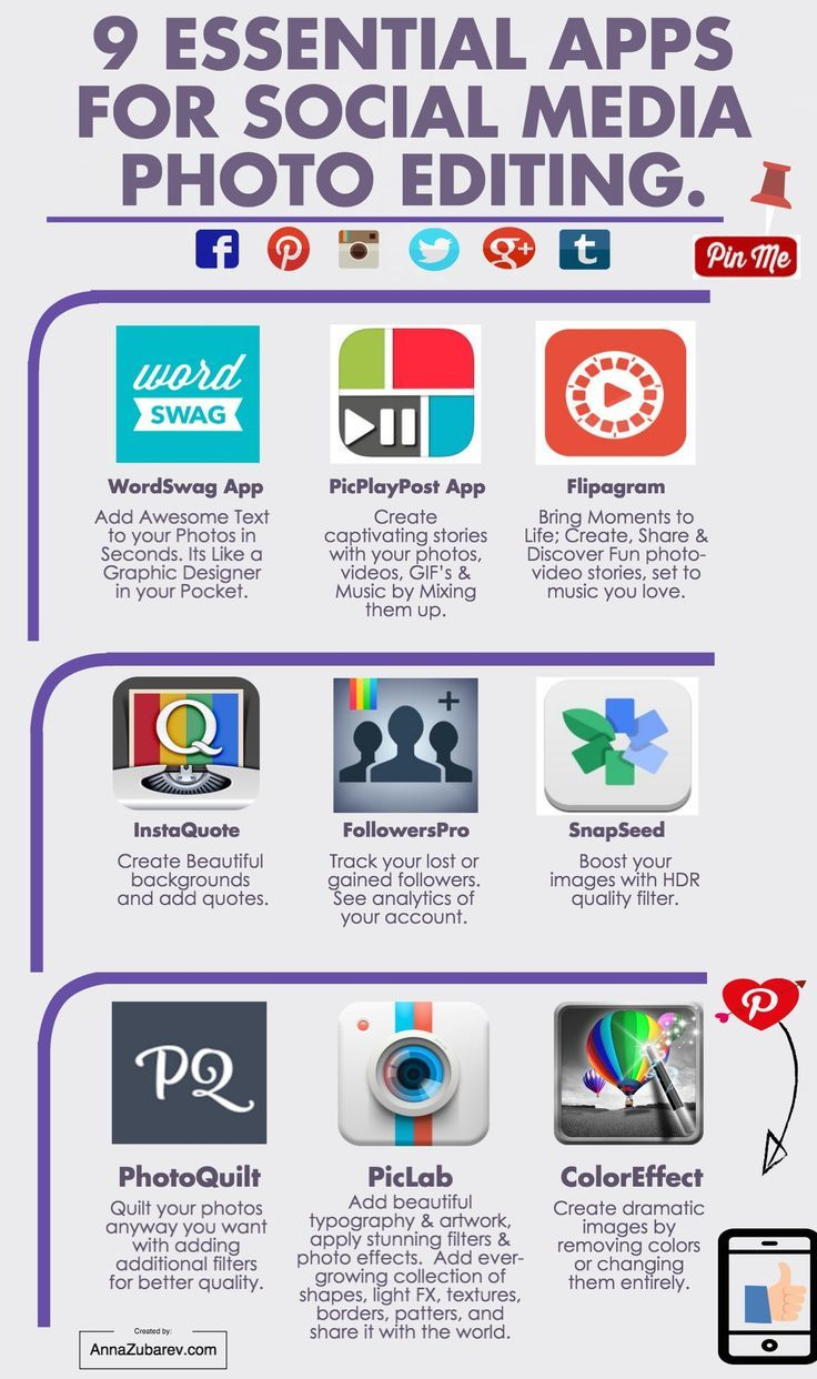 9 Essential Apps For Social Media Photo Editing 4