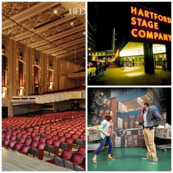 """The Bushnell Center for the Performing Arts, Hartford Stage, """"Love/Sick"""" at TheaterWorks"""