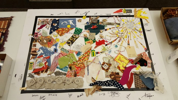 DIY Collage Art Project