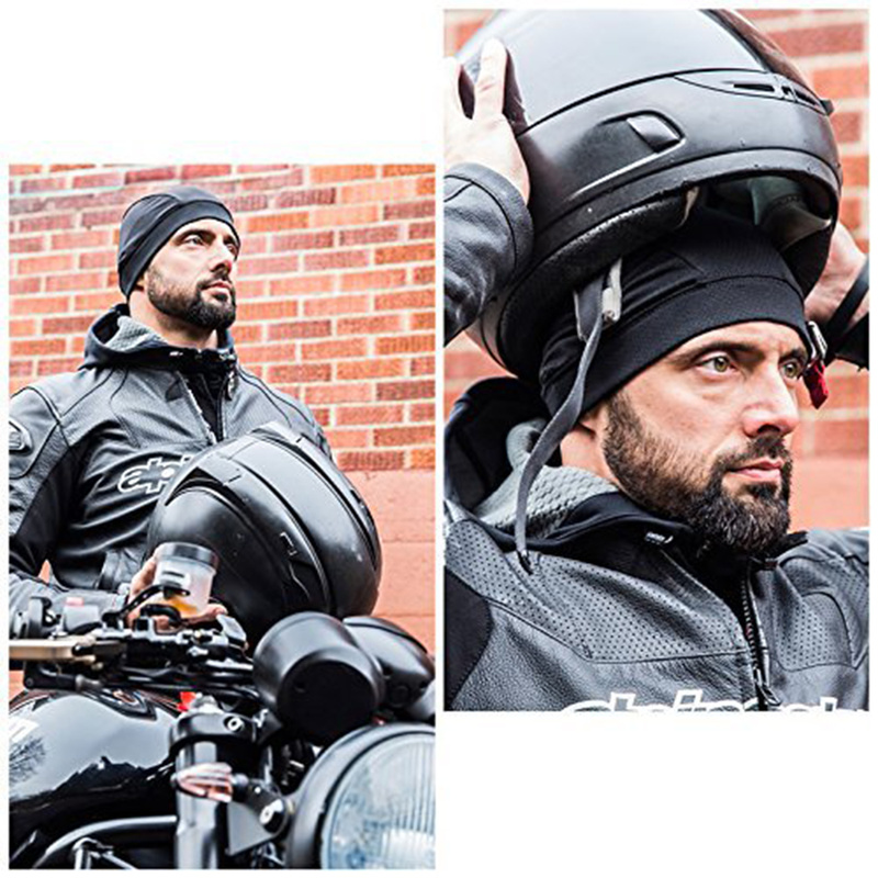 Motorcycle Helmet Inner Liner Headgear Cap Cooling Hat Quick Dry Racing Elastic