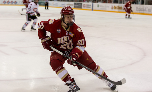 Heinen Scores Twice as Denver Tops Minnesota-Duluth