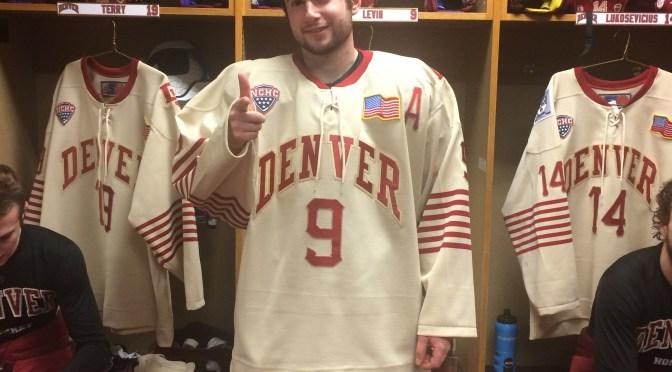 UPDATE: Denver Officially Unveils Battle on Blake Sweater
