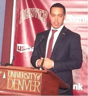 Billups Introduced as DU's New Basketball Coach