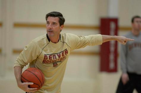 DU basketball practice