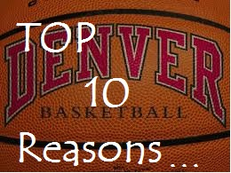 Top Ten Reasons to Join the Posse