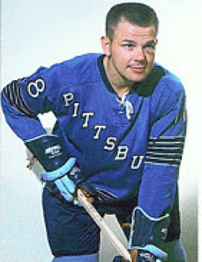 He played for the Pittsburgh Penguins in 1967-68