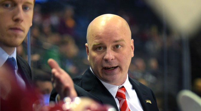 WATCH: Jim Montgomery talks Henrik Borgström and overtime win over St Cloud