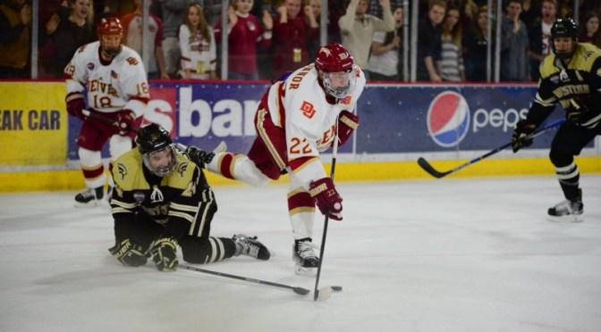 Penalty killing leader Logan O'Connor embodies DU's relentless hockey