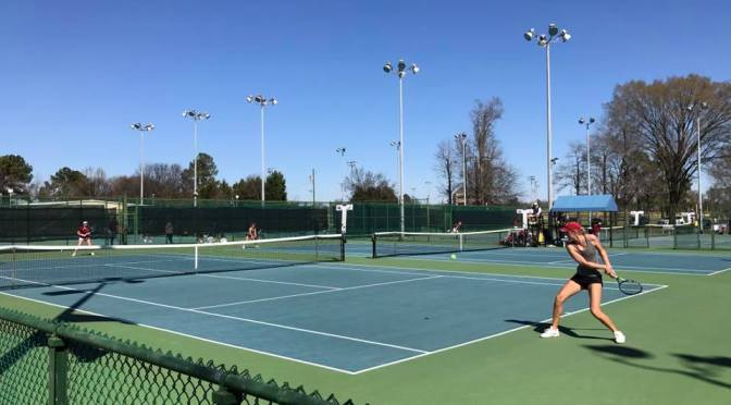 WATCH: DU Women's Tennis competes at Blue Gray Tournament in Alabama