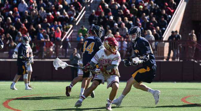 Denver shuts out Canisius in Bill Tierney's 100th Denver victory