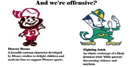 Fighting Irish vs boone