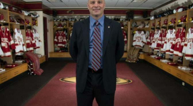 Jim Montgomery wins Spencer Penrose Award, named National Coach of the Year