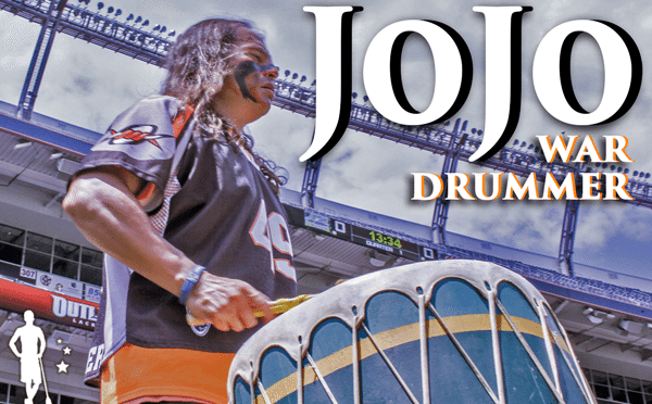 DU alums spring JoJo the War Drummer on Boston