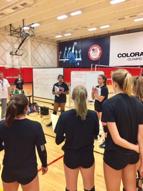 DU Volleyball Shared Leadership