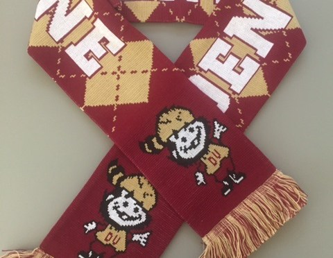 Show Your Colors, Buy a Denver Boone Scarf