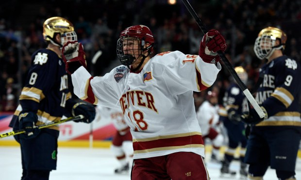 Denver Hockey Series Preview: University of Notre Dame Fighting Irish
