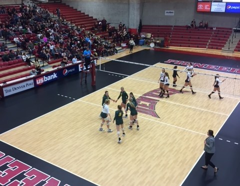 Denver Sweeps To Summit League Volleyball Finals