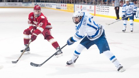 Air Force falls to DU 4-3 in OT