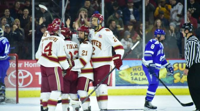 Denver Hockey Weekend Preview:  Air Force & Alabama-Huntsville